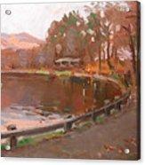 Lake In Bear Mountin Acrylic Print
