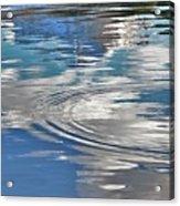 Lake In The Sky Acrylic Print