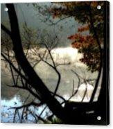 Lake In Wood Acrylic Print
