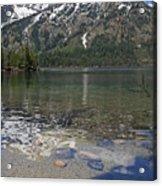 Lake Jenny Grand Tetons Acrylic Print
