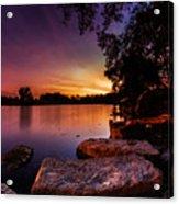 Lake Kirsty Twilight Acrylic Print