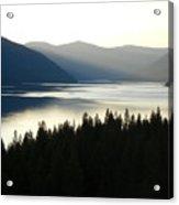 Lake Koocanusa  Evening Sun Acrylic Print