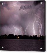 Lake Lightning 2 Acrylic Print