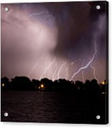 Lake Lightning 3 Acrylic Print