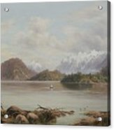 Lake Manapouri Acrylic Print