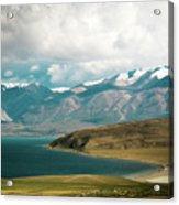 Lake Manasarovar Kailas Yantra.lv Tibet Acrylic Print