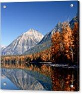 Lake Mcdonald Autumn Acrylic Print