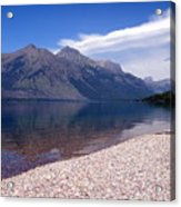 Lake Mcdonald Reflection Glacier National Park 4 Acrylic Print