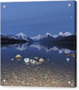Lake Mcdonald Rocks Acrylic Print