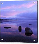 Lake Mcdonald Sunrise  Acrylic Print