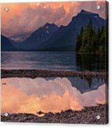 Lake Mcdonald Sunset Acrylic Print