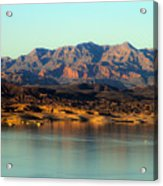 Lake Mead Before Sunset Acrylic Print