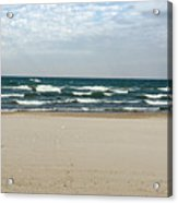 Lake Michigan 10.20.15 Acrylic Print