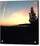 Lake Michigan At Dusk Acrylic Print