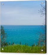 Lake Michigan In May Acrylic Print