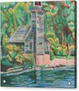Lake Michigan Old Lighthouse Acrylic Print