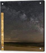 Lake Michigan Sky Acrylic Print