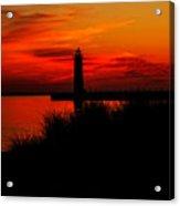 Lake Michigan Summer Night Acrylic Print
