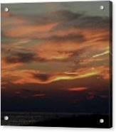 Lake Michigan Sunset Photograph Acrylic Print