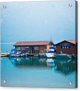 Lake Minnewanka Acrylic Print