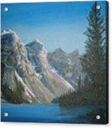 Lake Moraine Acrylic Print