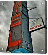 Lake Motel Acrylic Print