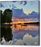 Lake Murray Sc Reflections Acrylic Print