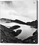 Lake Of Fire - Lagoa Do Fogo Acrylic Print
