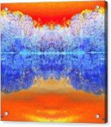 Lake Of Many Colors  Acrylic Print
