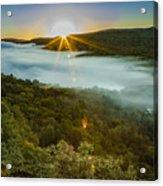 Lake Of The Clouds Sunrise Acrylic Print