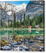 Lake O'hara At Dusk Acrylic Print