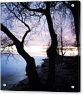 Lake Ontario In March  Acrylic Print
