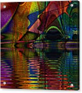 Lake Opalescence Acrylic Print