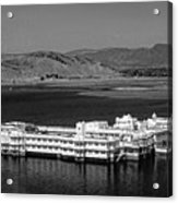 Lake Palace Hotel Acrylic Print