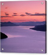 Lake Pend Oreille Sunset Acrylic Print