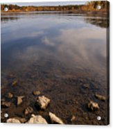 Lake Pomme De Terre In October Acrylic Print