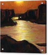 Lake Powell At Sunset Acrylic Print
