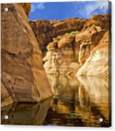 Lake Powell Stillness Acrylic Print