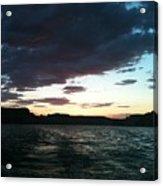 Lake Powell Sunset Acrylic Print