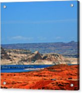 Lake Powell Utah Acrylic Print