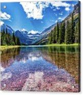 Lake Reflection Acrylic Print