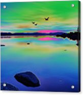 Lake Reflections 2 Acrylic Print