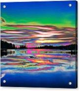 Lake Reflections 3 Acrylic Print