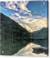 Lake Reflections Acrylic Print