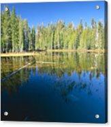 Lake Reflections Yosemite National Park California Acrylic Print