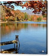 Lake Scene Acrylic Print
