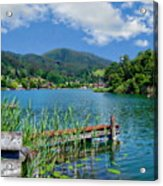 Lake Schliersee Acrylic Print