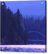 Lake Shasta Bridge Acrylic Print