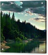 Lake Shasta Painterly Acrylic Print