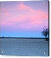 Lake Shore Evening Acrylic Print